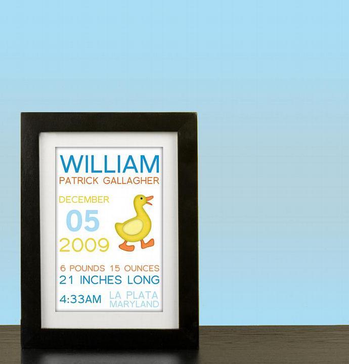 Duck Subway Announcement Art