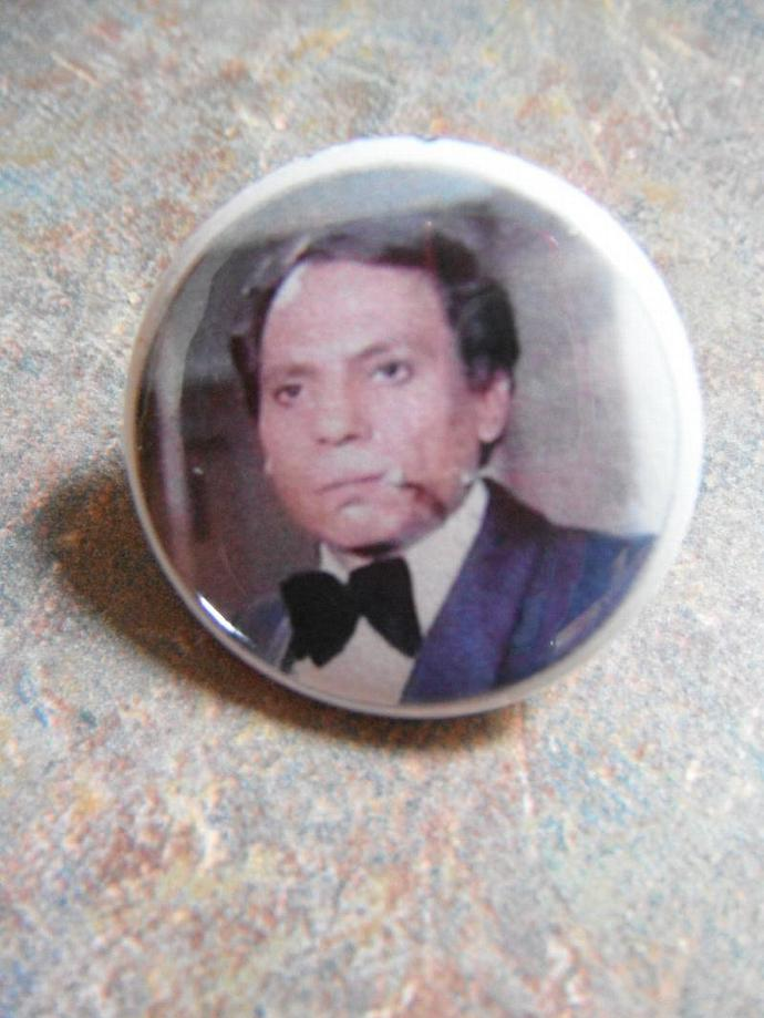 Adel Imam Button Pin