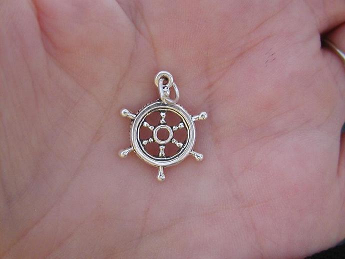Ships Wheel SS Charm