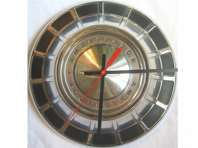 1966 Rambler Ambassador Hubcap Clock