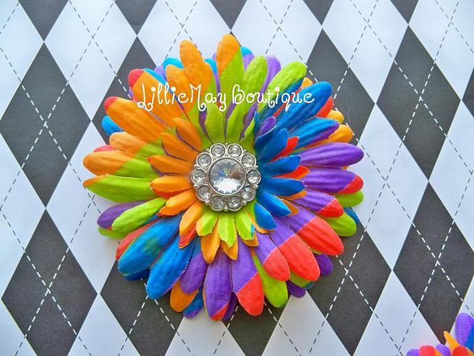 Tie-Dye Daisy