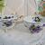 Two Vintage Violet Teacups