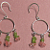 Peridot & Cherry Quartz Earrings