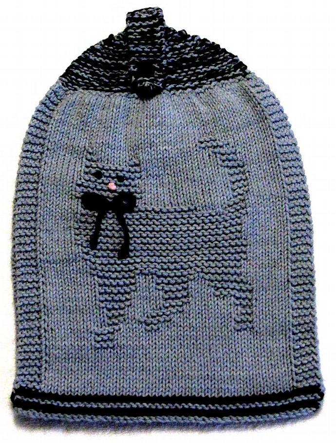 Knitting Pattern - Double Hanging Hand Towel   ezcareknits