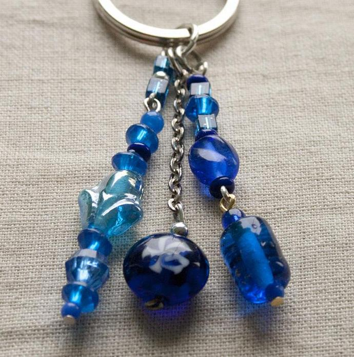 Tangled Up In Blue keychain