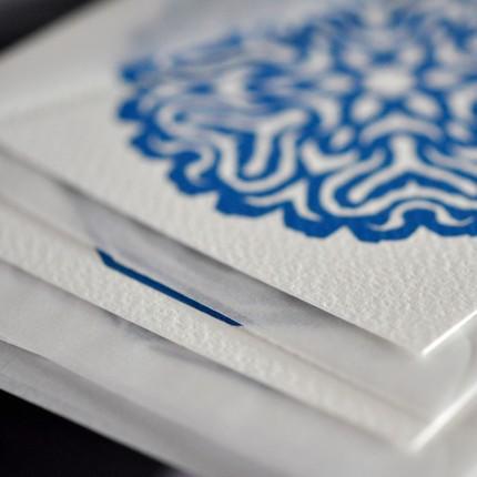 3 Paper Cut Postcard Pack