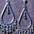 Star Showers- OOAK  Artisan Crystal Earrings