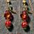 Scarlett- OOAK, Handmade Artisan Earrings