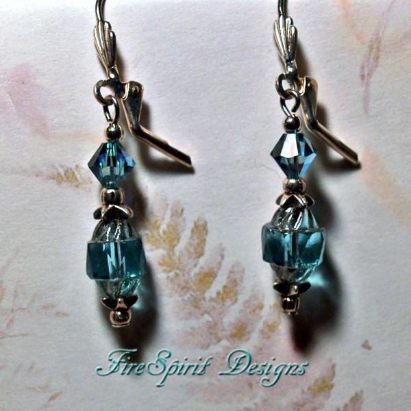 Empress- OOAK Beaded Crystal Earrings