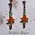 Sugar & Spice- OOAK Beaded Earrings