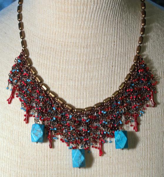 Vintage 80's Chico necklace