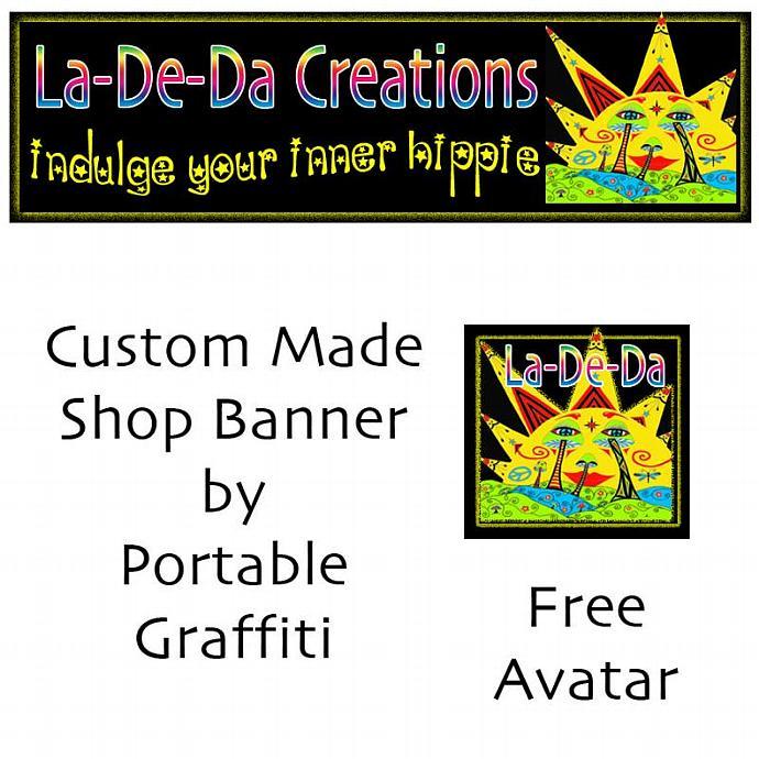 Custom Made Zibbet Banner Any Size