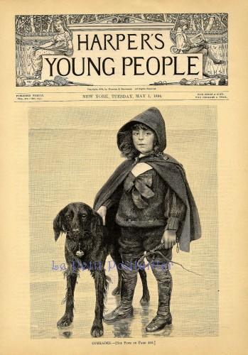 Comrades 1894 Margaret E Sangster and Harper's Young People Magazine Victorian