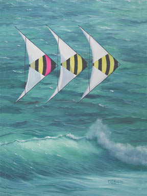 """""""Speed Wing"""" Giclee Paper Print by Carol Thompson"""