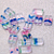 Rainbow- premium Czech glass beads