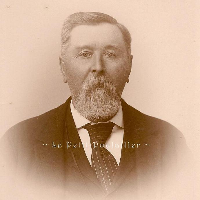 Mr Jenkins 1896 Victorian Cabinet Photograph Antique Businessman Portrait