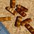 Honey Brown Czech Rectangle Beads 10-1111