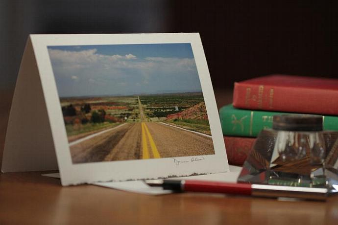 Photo Note Card - Alone At Last