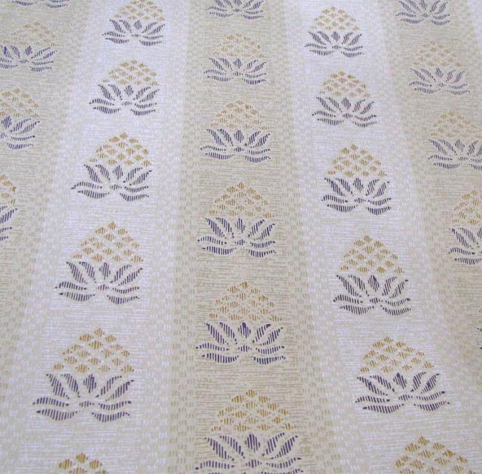 Schumacher Classic Colonial Welcoming Pineapple Wall Paper 1970 Three Continuous