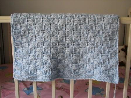 Preemie Thick Basketweave Afghan Crochet By Ambassadorcrochet On