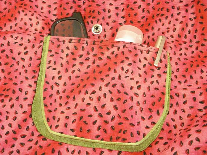 On Fire Sweet and Juicy Seed Tote bag - Fully Lined, Reversible
