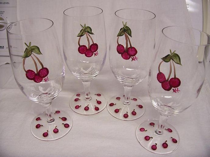 Cherry Glasses