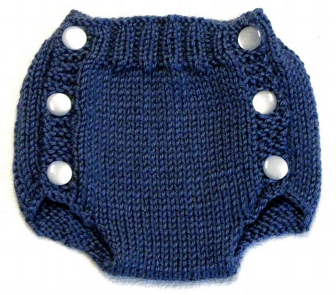 Diaper Cover Knitting Pattern - PDF