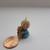 "1990 Hallmark Keepsake Miniature Ornament ""Puppy Love"", Vintage Hallmark"