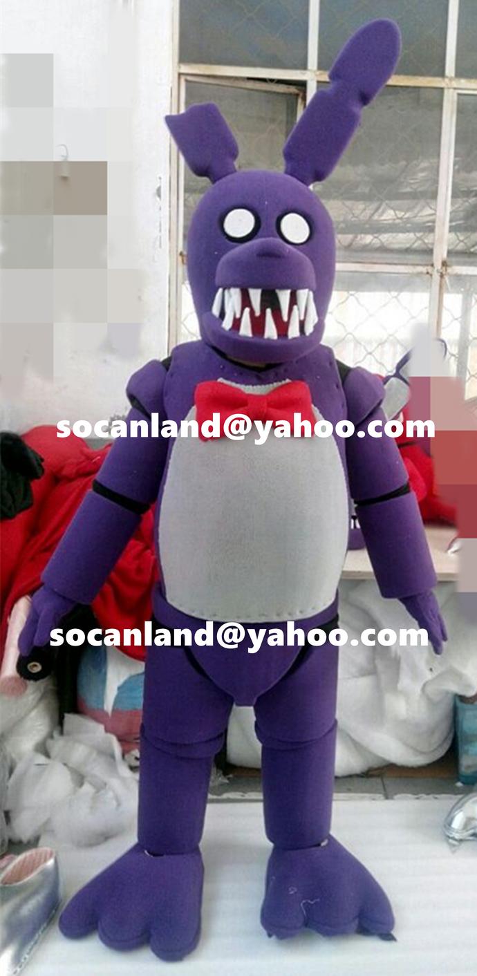 Fnaf bonnie costume for sale - Fnaf Bonnie Fhe Bunny Costumes Fnaf Bonnie The Bunny Halloween Costumes Fnaf