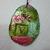 OOAK Handmade Clay Charm or Ornament,  Small Art, Bottle Charm, Colorful Gift