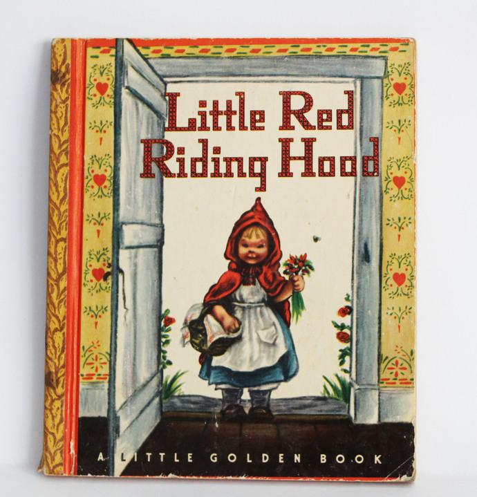 A 1948 Little Golden Book - Little Red Riding Hood-2nd edition