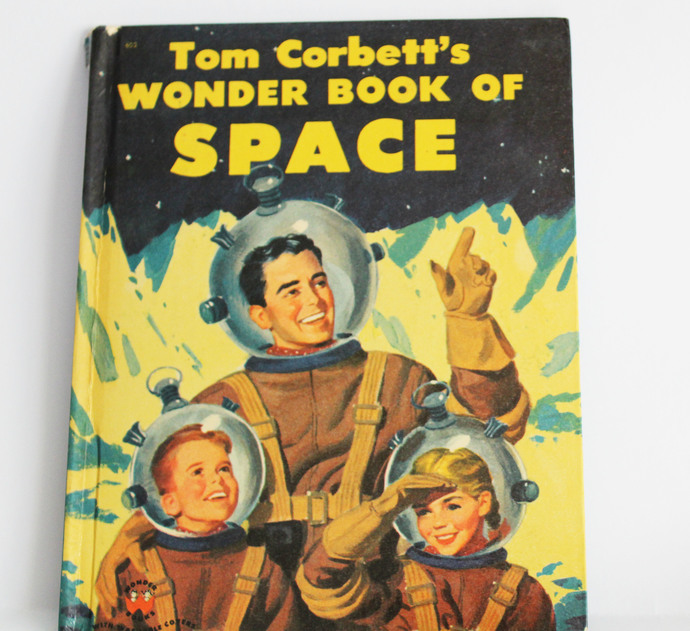Tom Corbett's 1953 Wonder Book of Space Story by Marcia Martin Pictures by Frank