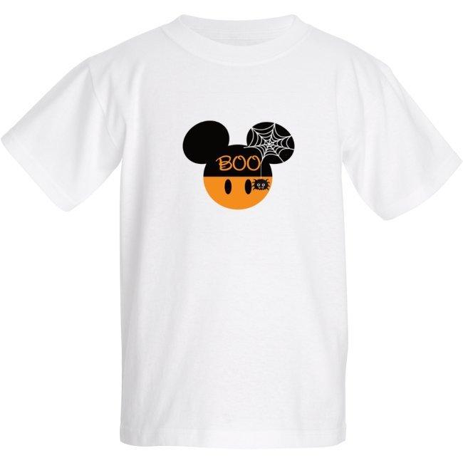 Boo Halloween Minnie Ears - Kids T-shirt
