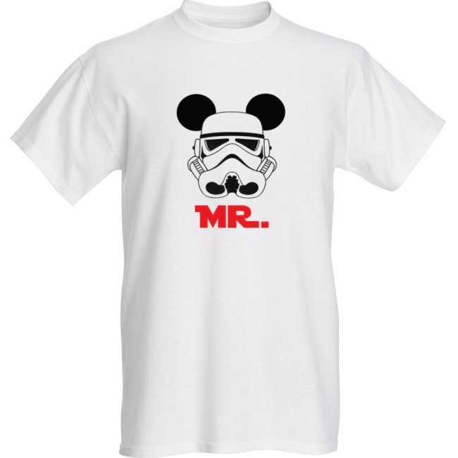 Mr Mickey Stormtrooper - Unisex Adults - T-shirts