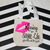 Personalized party favors, Kissing the single life goodbye, custom canvas bag,