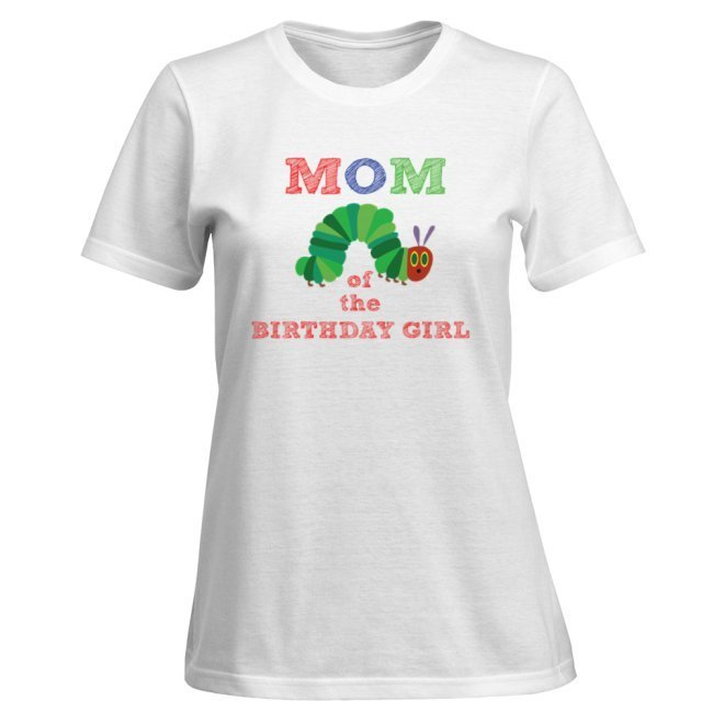 Family shirts-  Caterpillar Party - Dad, Mom and Birthday girl- T-shirt