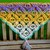 Multi-color Peace Sign Shawl