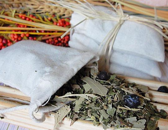 BATH TEA-Tub Tea-ORGANIC Herbs-Organic Cotton Muslin Bags-Opens NASAL