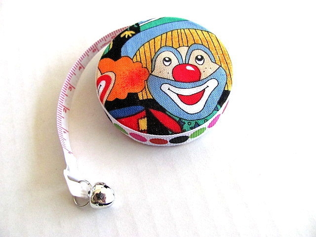 Measuring Tape Smiling Clowns Retractable Tape Measure