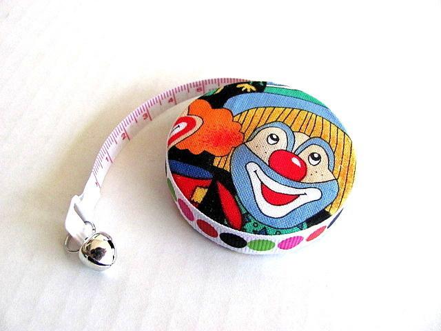 Measuring Tape Smiling Clowns Retractable Tape Measure