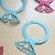 Set of 12 eos Diamond Ring Lip Balm Holders / Bridal Shower Favor -