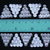 20x21 mm • 4 pcs • Traditional Thai Hmong Triangle Decoration Plates