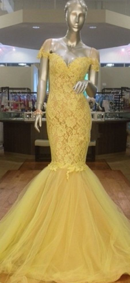 Charming Prom Dress,Lace Prom Dress,Mermaid Prom Dress,Tulle Prom Dress 0644