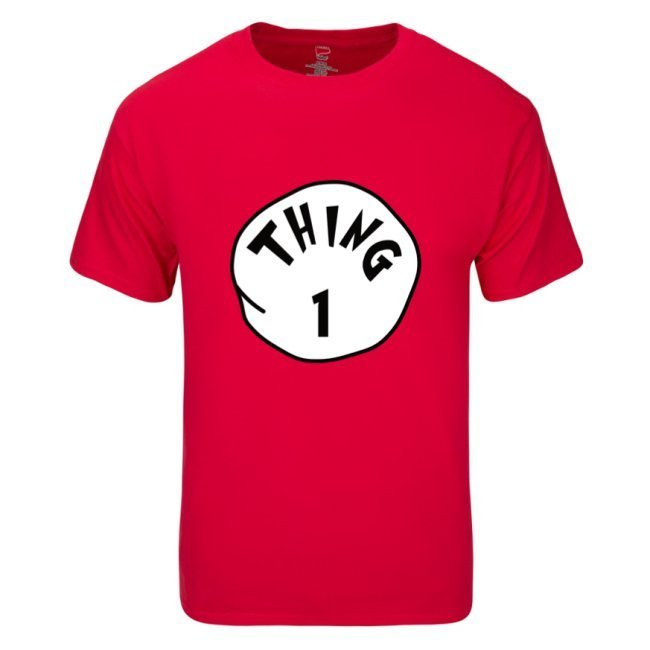 Thing 1 to Thing 4 -  Family Disney Shirt - Unisex adults T-shirts