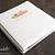 Wedding Memory Album - Letter size - post bound album