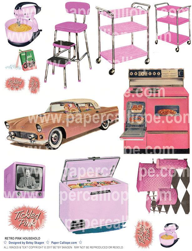 Retro Pink Household