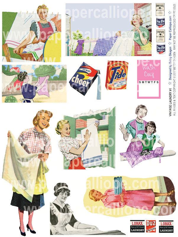 Vintage Laundry #1