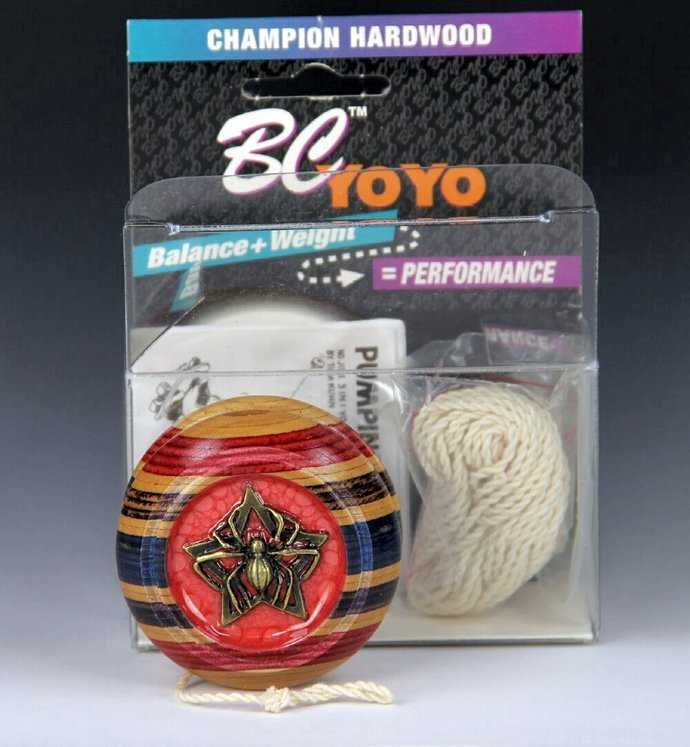 Tom Kuhn BC Lightning Imperial YoYo: One-Of-A Kind, Customized by YoYoSpin