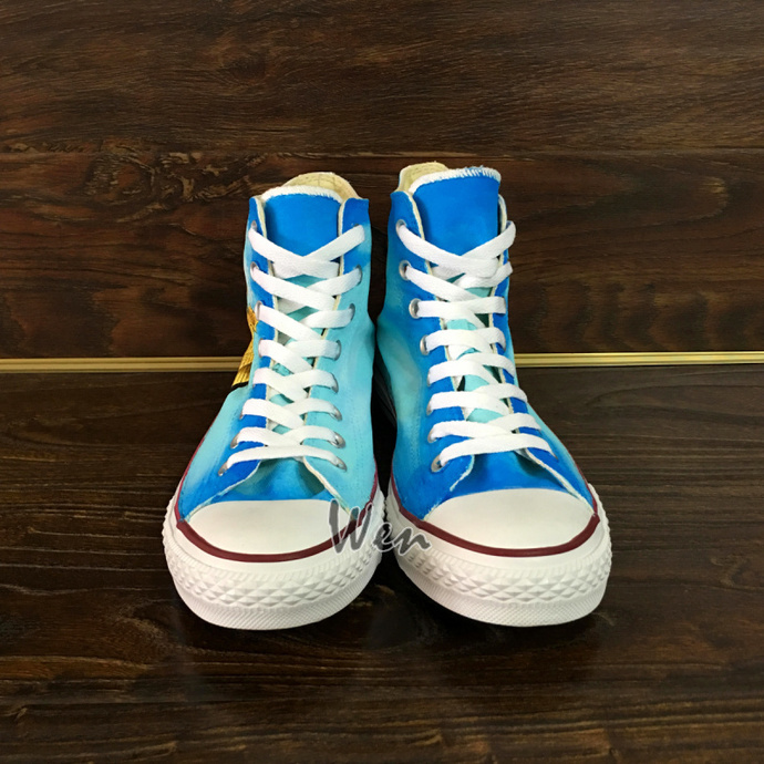 Men Women All Star Canvas Sneakers Hand Painted Pierce the Veil Converse Shoes