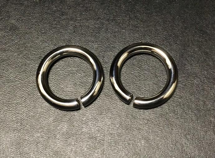 2g  Steel hoop Ear Weights